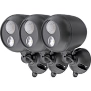 3-Pack Mr. Beams MB363 Wireless LED Spotlight with Motion Sensor, Black