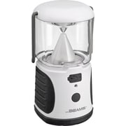 Mr. Beams UltraBright Weatherproof LED Lantern with USB Backup Battery Charger, White