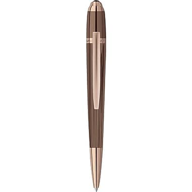 Saint Honoré Trocadero Titan PVD Plating and Rose Gold Plating Ballpoint Pen, Black