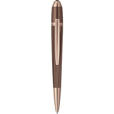 Saint Honoré Trocadero Titan PVD Plating and Rose Gold Plating Ballpoint Pen, Blue