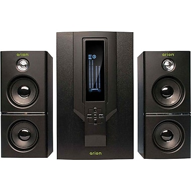 Arion AR504LR-BK 2.1 Speaker, Black
