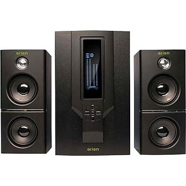 Arion – Haut-parleur AR504LR-BK 2.1, noir