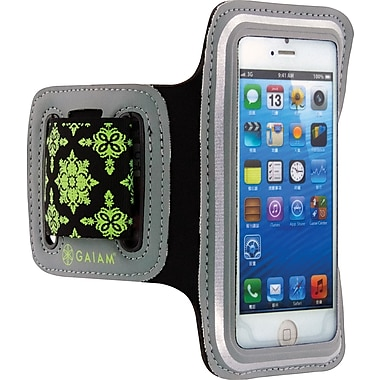 Gaiam iPhone 5 Sport Armband Phone Case, Dark Grey