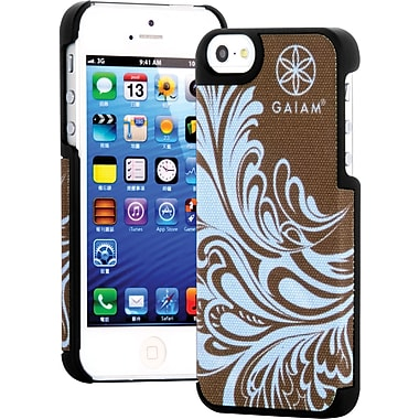 Gaiam iPhone 5/5S Fabric Case, Blue Watercress