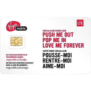 Virgin Micro LTE SIM Card