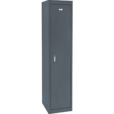 Sandusky Single Tier Storage Locker, Charcoal