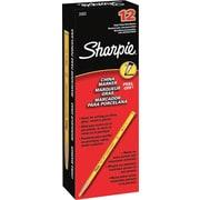 Sharpie Peel-Off China Marker, Yellow, Dozen