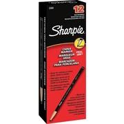 Sharpie Peel-Off China Marker, Black, Dozen