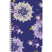 Staples® 2015 Queen Anne Small Weekly/Monthly Planner, January - December, 4 7/8 x 8