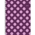 Staples® 2015 Berry Fizz Large Weekly/Monthly Planner, January - December, 8in. x 11in.