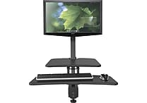 Up-Rite Desk Mounted Sit/Stand Workstation -Single Monitor Mount