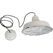 HomeSelects 13-Watt LED Pendant, White