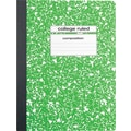 Staples® Composition Notebook, College Ruled, Green, 9-3/4in. x 7-1/2in.