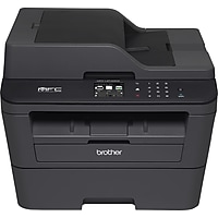 Brother MFC-L2740DW Wireless Monochrome Laser All-In-One Printer with Duplex - Black