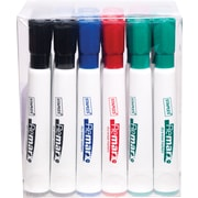 Staples® Remarx™ Dry-Erase Markers, Chisel Tip, Assorted, 24/Pack