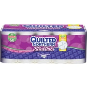 Quilted Northern Ultra Plush Three-Ply Bathroom Tissue, 30 Rolls/Case (87135511)