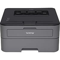 Brother HLL2320D Monochrome Laser Printer with Duplex (Gray)