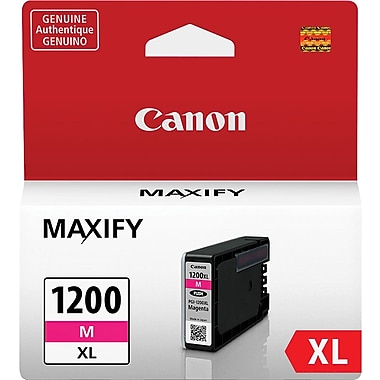 Canon PGI-1200XL Magenta Ink Cartridge (9197B001), High Yield