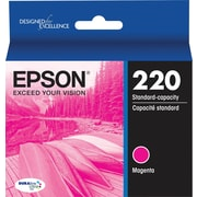 Epson DURABrite Ultra 220 Magenta Ink Cartridge, (T220320-S)