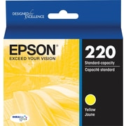Epson DURABrite Ultra 220 Yellow Ink Cartridge, (T220420-S)