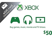 Microsoft Xbox Cash Gift Card $50 (email delivery)