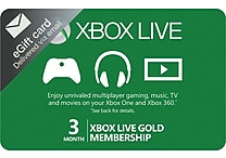 Xbox 3 Month Subscription Gift Card $24.99 (email delivery)