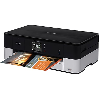 Brother mfc j4320dw color inkjet all in one printer for Staples color printing cost per page