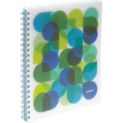 Poppin Pool Blue Kaleidoscope 1-subject Notebook