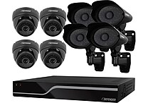Defender® Pro Sentinel 8CH H.264 1 TB Smart Security DVR with 4 Pro / 4 Dome Cameras
