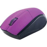 Staples® Wireless Mouse, Purple