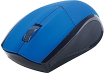 Staples Wireless Optical Mouse, Assorted Colors