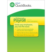 QuickBooks Enhanced Payroll 2016 for Windows (1 User) [Download]