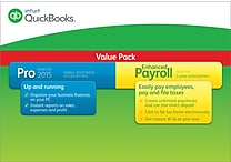 QuickBooks Pro with Enhanced Payroll 2015 for Windows (1 User) [Download]