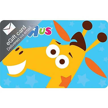 Toys R Us Gift Card, $50 (Email Delivery)