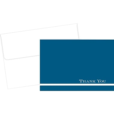 Great Papers® Midnight Blue Thank You Cards, 24/Pack