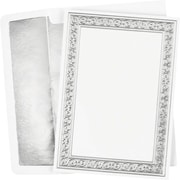 Great Papers® Silver Filigree Invitation Kit, 25/Pack