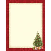 Great Papers® Holiday Stationery Lacy Tree , 80/Count