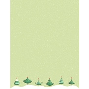 Great Papers® Holiday Stationery Six Trees , 80/Count