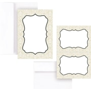 Great Papers® Taupe Scroll Frame Invitation & Card Kit, 50/Pack