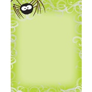 Great Papers® Holiday Stationery Green Spidey Swirls, 80/Count