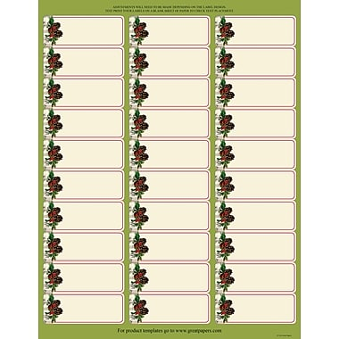 Great Papers® Holiday Card Address Labels Pinecone Garland , 300/Count