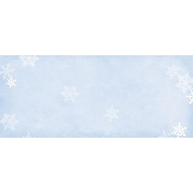 Great Papers® Holiday Card Envelopes Winter Flakes, 40/Count