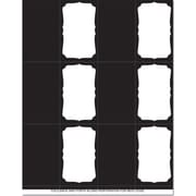 Great Papers® Black Frame Place Cards, 120/Pack