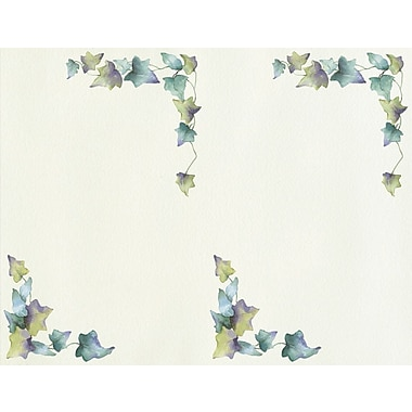 Great Papers® Ivy Border 2-Up Invitation and Envelopes, 16/Pack