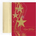 Great Papers® Shimmering Stars Boxed Card Set, 16/Sets