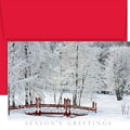 Great Papers® Winter Bridge Boxed Card Set, 18 cards/18 envelopes