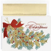 Great Papers® Holiday Cards Christmas Holly , 16/Count