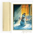 Great Papers® Patriotic Snowman Boxed Card Set, 36/Pack