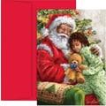 Great Papers® Santa Hug Boxed Card Set, 36/Pack