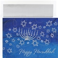 Great Papers® Menorah & Stars Boxed Card Set, 18/Pack